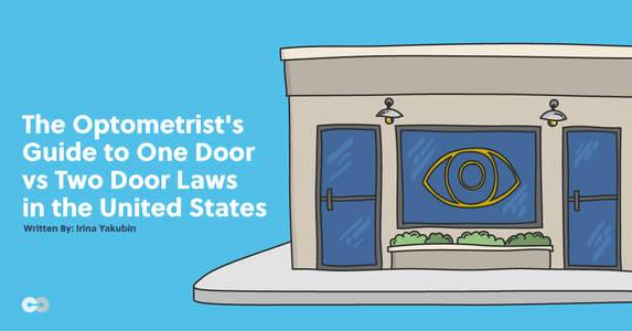 The Optometrist's Guide to One Door vs Two Door Laws in the US