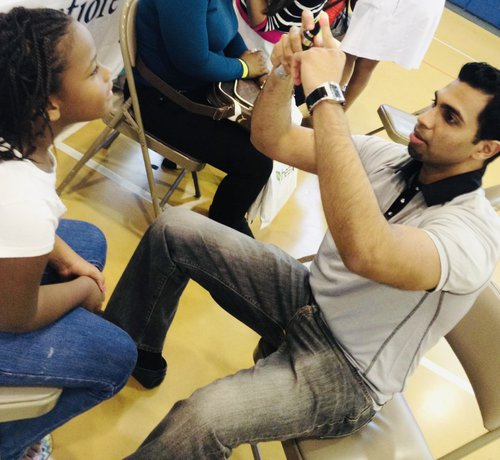 Screening eye exams in the Bronx