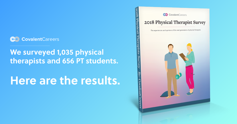 we surveyed 1035 physical therapists and 656 pt students for this 2018 report