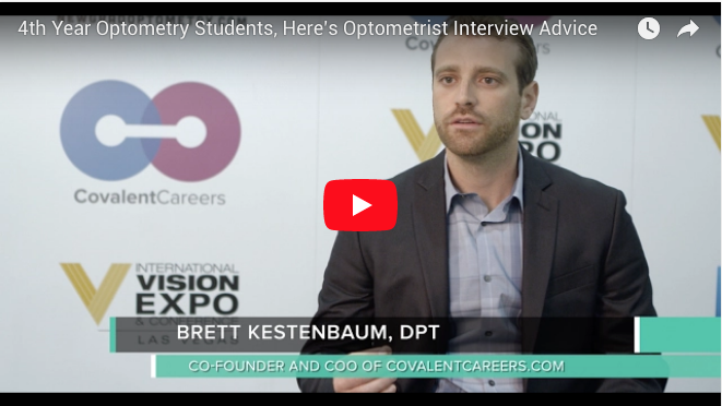 4th Year Optometry Students, Here's Optometrist Interview Advice