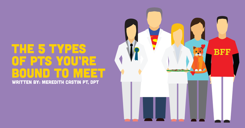The 5 Types of PTs Every New Grad Will Encounter