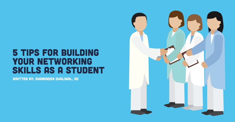 5 Tips for Building Your Networking Skills as an Optometry Student