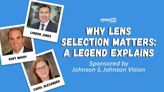 Why Contact Lens Selection Matters: A Legend Explains