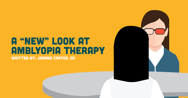 "A ""New"" Look at Amblyopia Therapy"