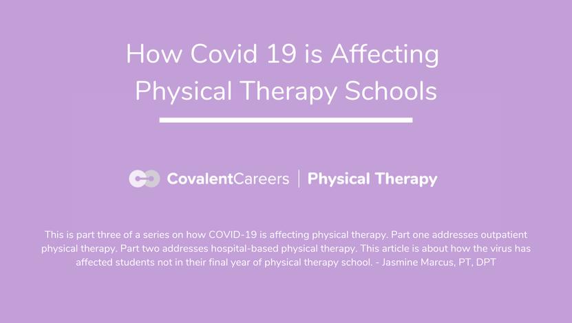 Covid 19 PT school