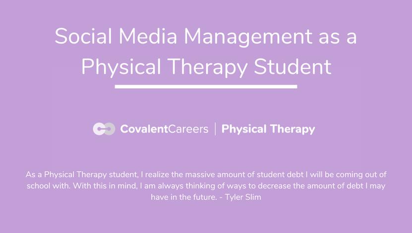 social media PT student