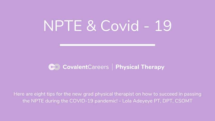 NPTE and Covid 19