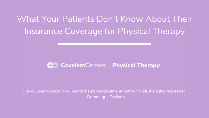 PT pts dont know insurance
