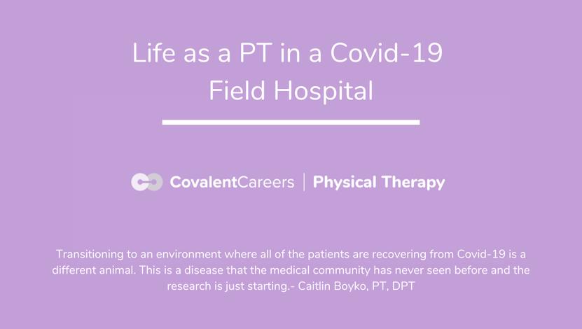 Covid field hospital