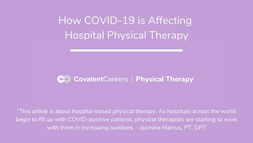 Covid 19 hospital PT