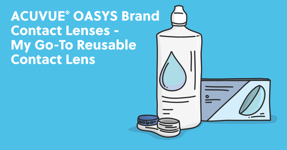 ACUVUE® OASYS Brand Contact Lenses – My Go-To Reusable Contact Lens