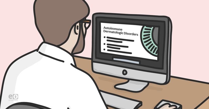 Autoimmune Dermatologic Disorders and the Eye Study Guide