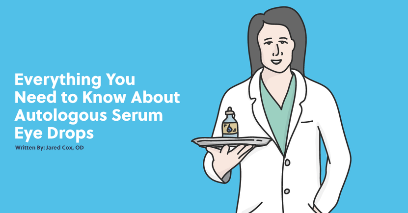 Everything You Need to Know About Autologous Serum Eye Drops