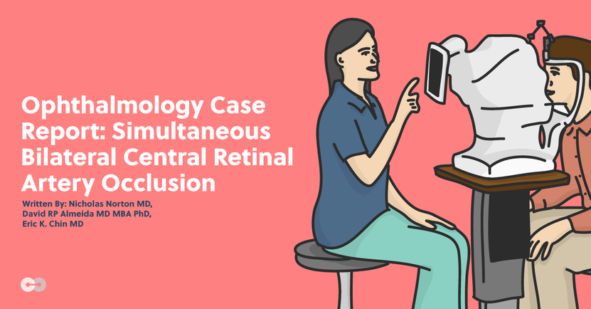 Ophthalmology Case Report: Simultaneous Bilateral Central Retinal Artery Occlusion