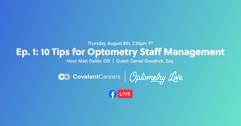 Ep. 1: 10 Tips for Optometry Staff Management with Dr. Jennifer Chinn, OD
