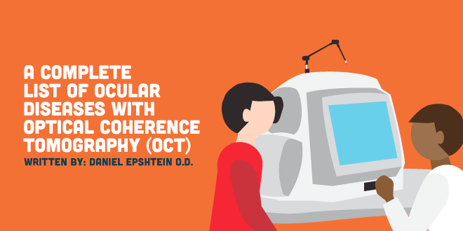 A Complete List of Ocular Diseases with Optical Coherence Tomography (OCT)