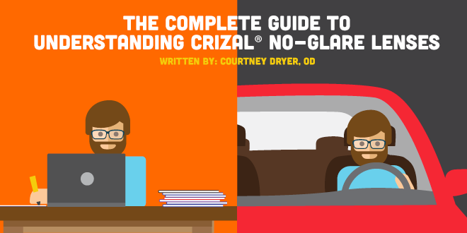 Complete Guide to Understanding Crizal ® No-Glare Lenses