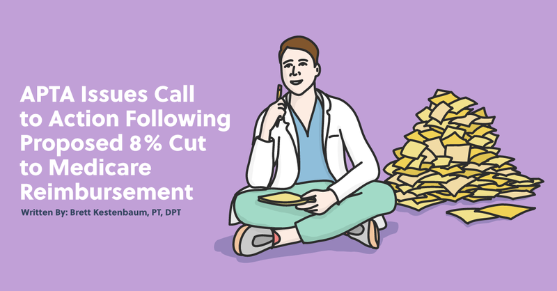 APTA Issues Call to Action Following Proposed 8% Cut to Medicare Reimbursement