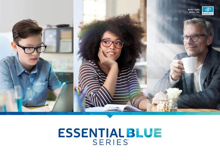 Essilor of America Announces Launch of Essential Blue Series™ lenses - Press Release