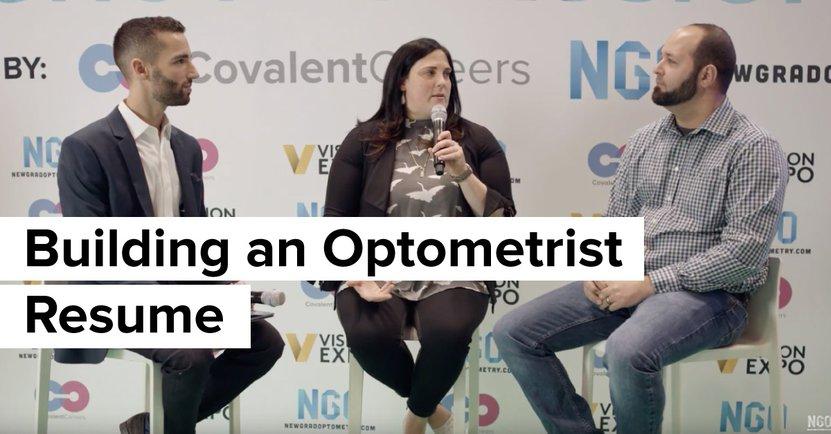 Building an Optometrist Resume