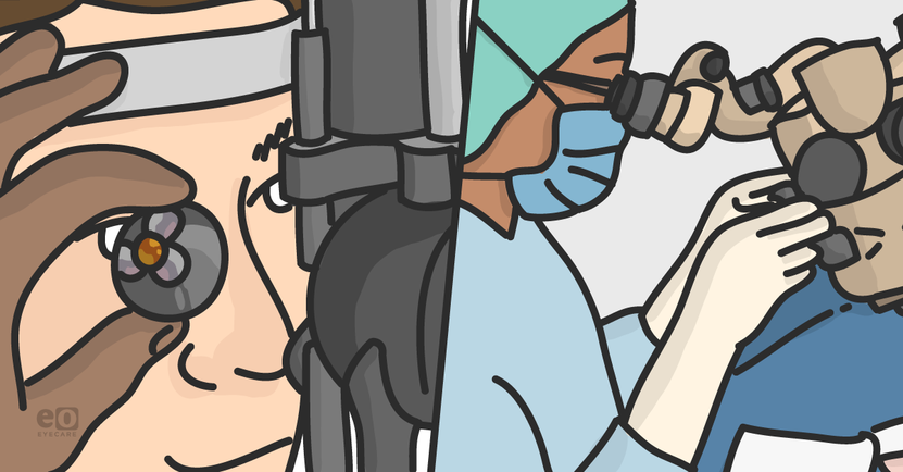 Exam Gonioscopy Versus Surgical Gonioscopy: Know the Differences