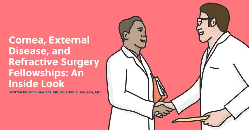 Cornea, External Disease and Refractive Surgery Fellowships: An Inside Look