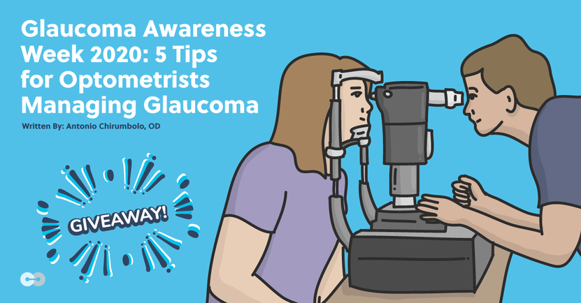 Glaucoma Management Tips glaucoma awareness week giveaway