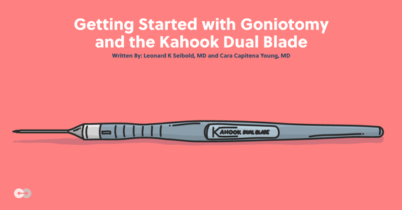 Getting Started with Goniotomy and the Kahook Dual Blade