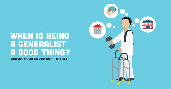 When is Being a Generalist a Good Thing?