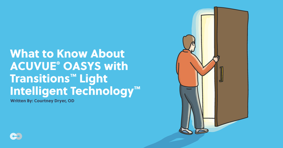 What to Know About ACUVUE® OASYS with Transitions™ Light Intelligent Technology™
