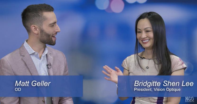 Dr. Bridgitte Shen Lee Talks Digital Eyestrain and Blue Light