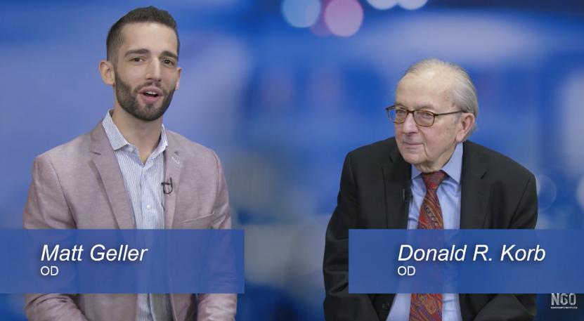 Dr. Donald Korb Talks Advancement of Contact Lenses