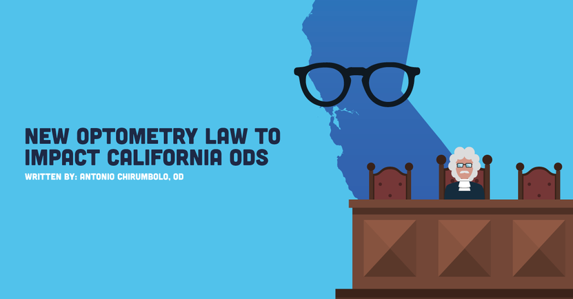 New Optometry Law To Impact California ODs