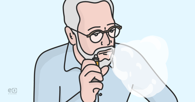 Ocular Surface Implications of E-Cigarette Smoking and Vaping