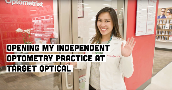 Opening My Independent Optometry Practice at Target Optical