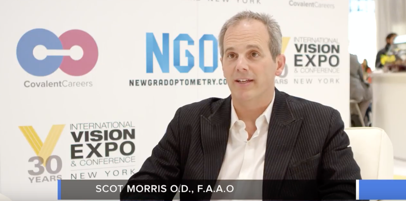 Career Tips for New Graduate ODs - Video Interview with Dr. Scot Morris