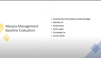 Myopia Management Introduction