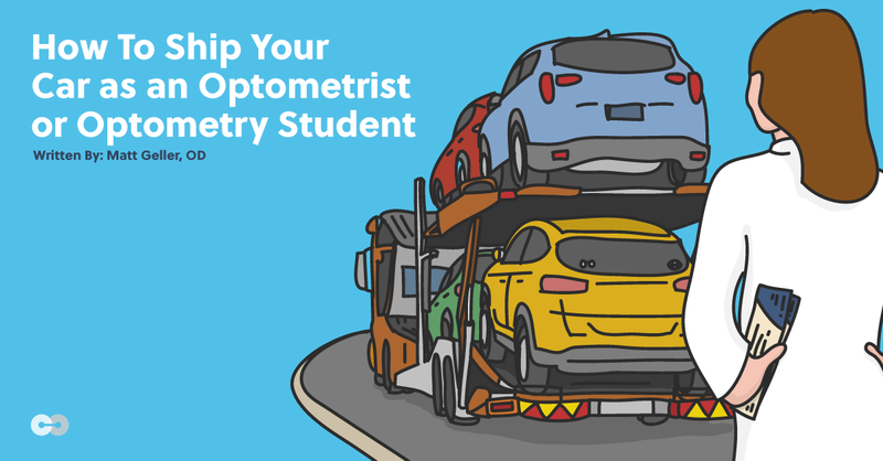 How To Ship Your Car as an Optometrist or Optometry Student