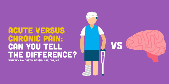 Acute Versus Chronic Pain: Can You Tell the difference?