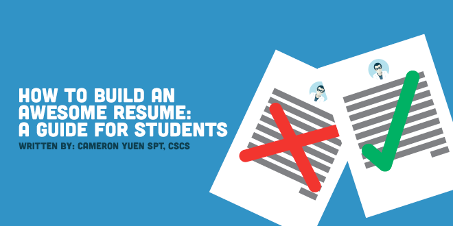 How to Build an Awesome Physical Therapy Resume: A Guide for Students