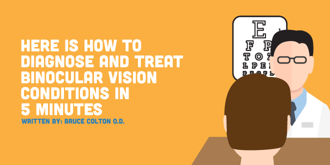 Here Is How To Diagnose and Treat Binocular Vision Conditions In 5 Minutes