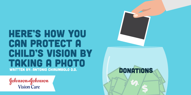 Here's How You Can Protect a Child's Vision By Taking a Photo