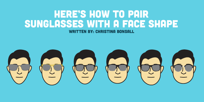 How to Pair Sunglasses With Face Shape—With Cheat Sheet!