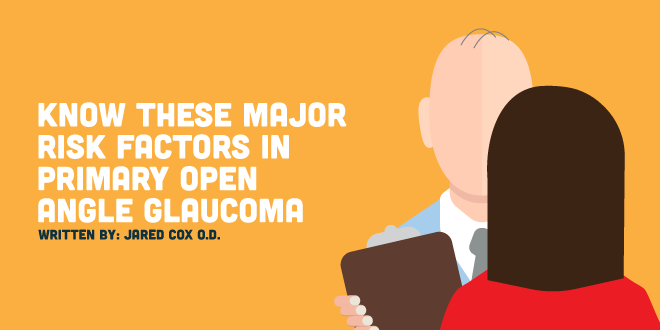 Know These Major Risk Factors in Primary Open Angle Glaucoma