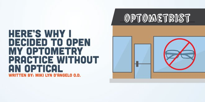 Here's Why I Decided to Open My Optometry Practice Without An Optical