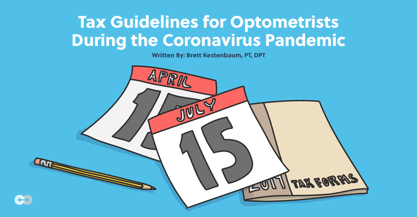 Optometrist tax guidelines during coronavirus