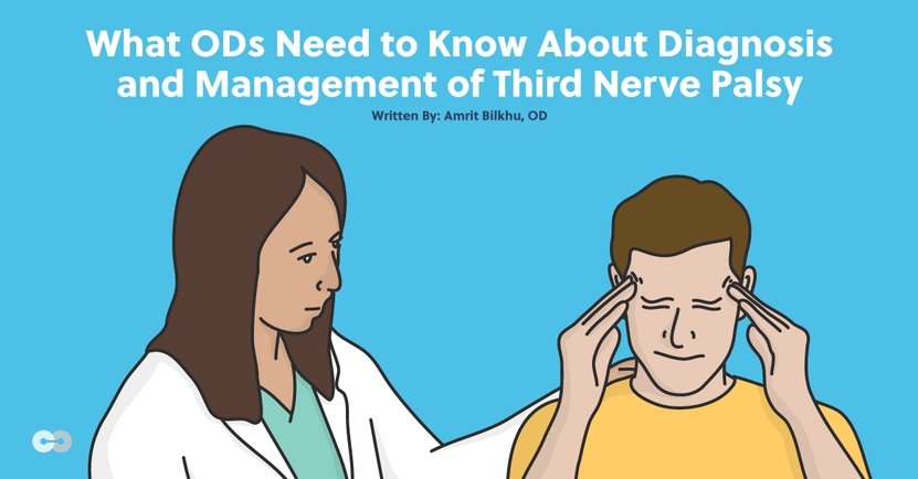Diagnosis and Management of Third Nerve Palsy for ODs