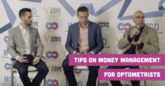 Tips on Money Management for Optometrists