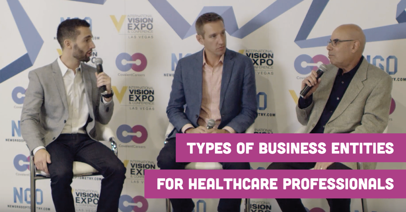 Understanding the Different Types of Business Entities for Healthcare Professionals