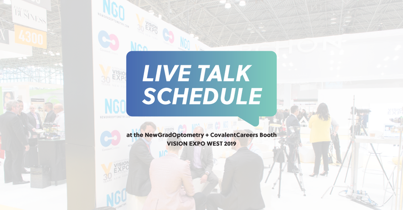 Live Talks and Panels at Vision Expo West 2019